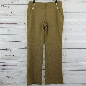 Cabi tweed trouser pants